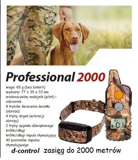 dogtrace profesional 2000+